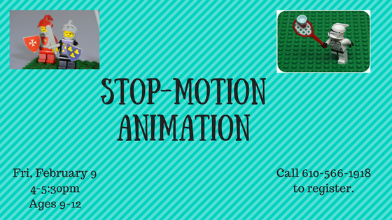 Stop-Motion Animation - Media-Upper Providence Free Library